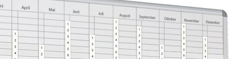 Whiteboard Planung